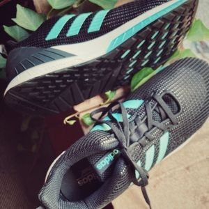 Adidas Charcoal Running Shoes